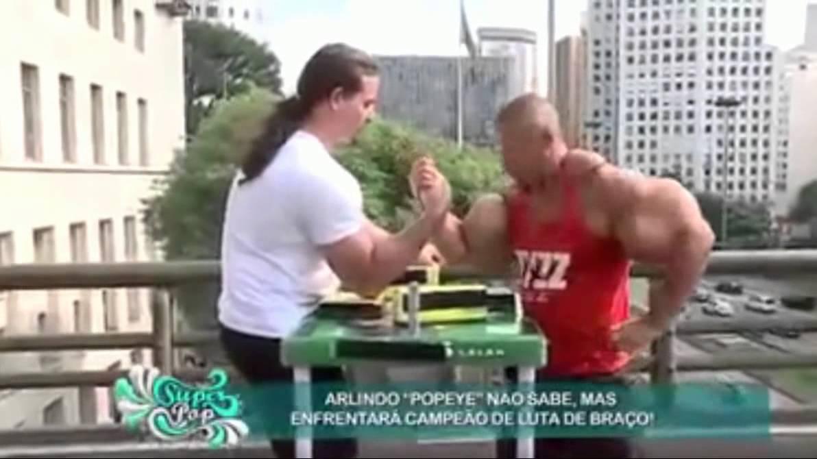 Synthol Man Vs Arm Wrestler !!!! · YourFitnessNews com