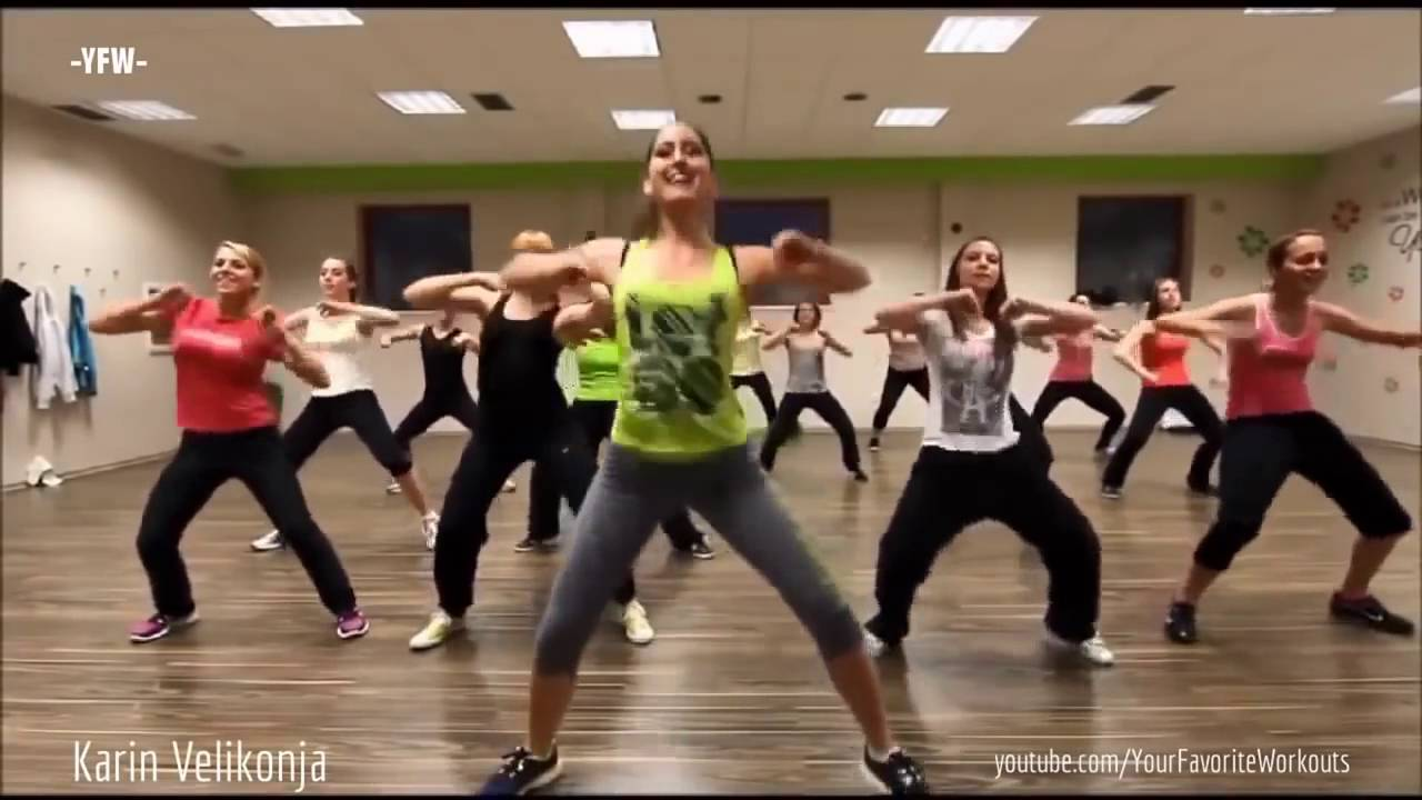 Zumba Dance Aerobic Workout 30 Minutes Dance Classes For ...