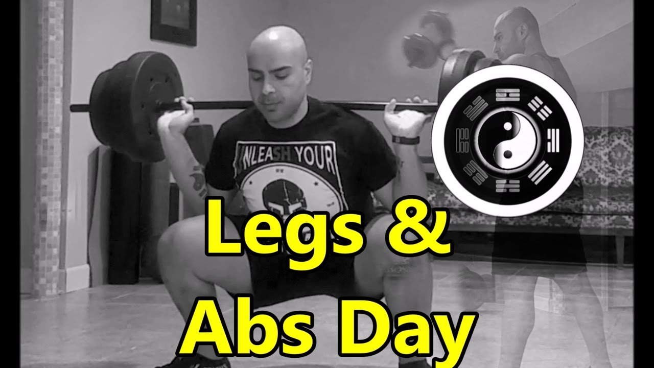 Beastmode QiGong Style Legs & Abs Workout - Build Lean ...