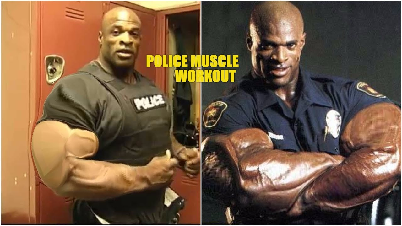 police muscle biggest cop ever ronnie coleman