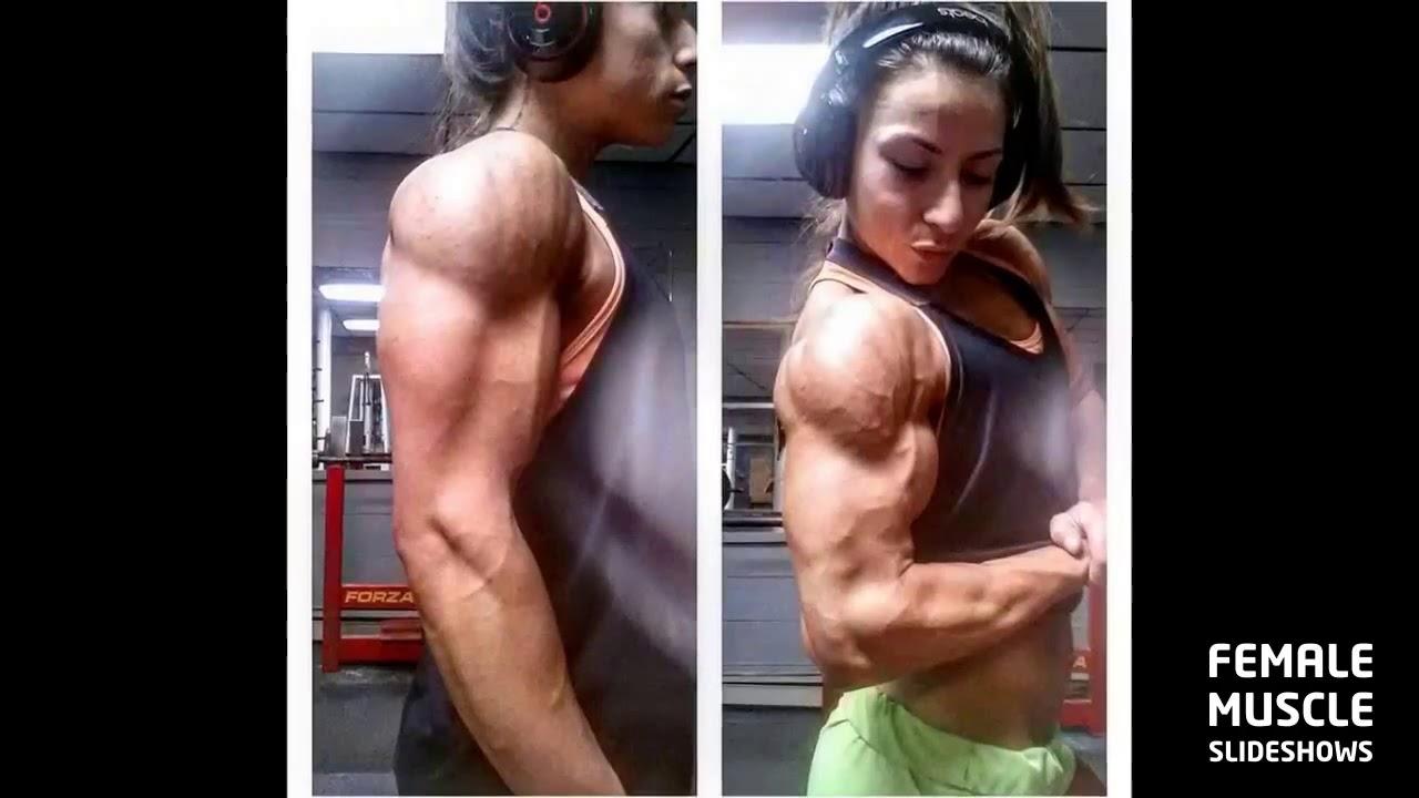 Erika Pelletier Ffb Pro Female Bodybuilder Posing And -9734