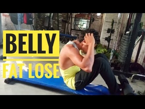 How to Lose Belly Fat in 1 Week At Home - Exercises to ...