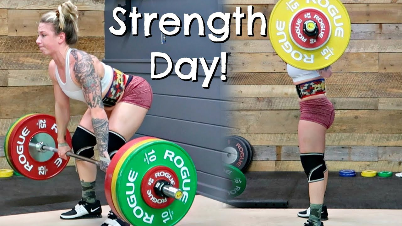 Strength Training For Nationals Back Squats Clean
