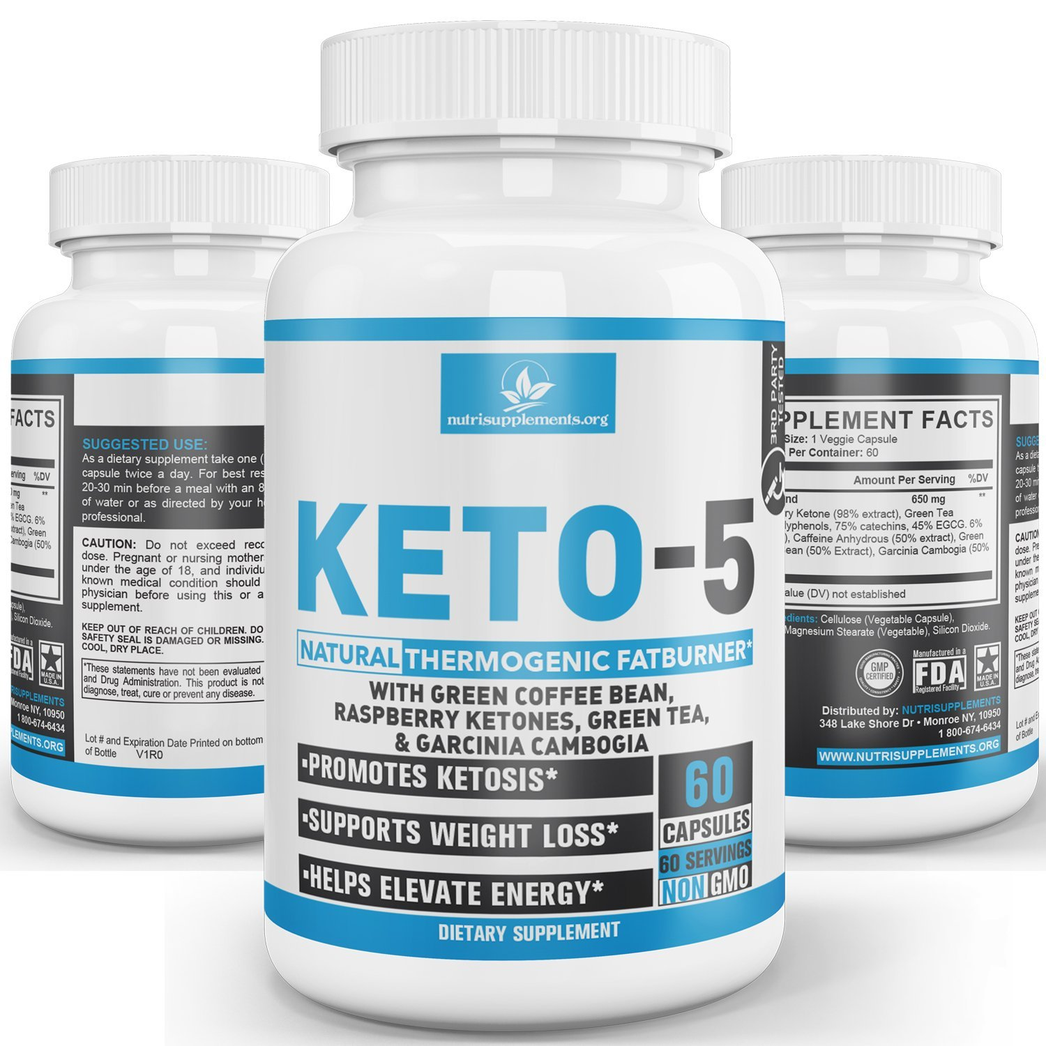 KETO 5: Advanced Weight Loss Supplements for Men and Women ...