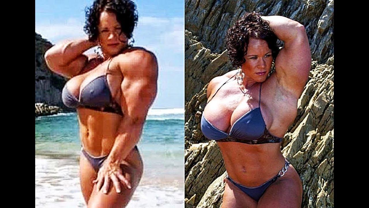 Huge female bodybuilder aleesha young has surprised